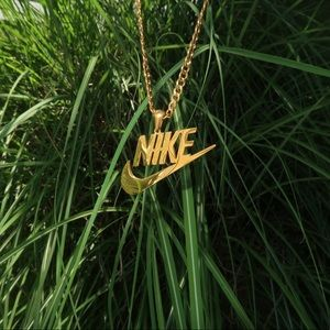 Nike Chain Gold Necklace